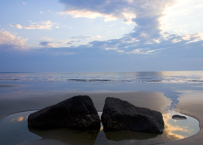 Jekyll Island Beach at Sunrise