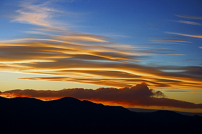 Dantes Peak Sunset - Death Valley National Park