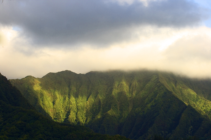 Ko\' olau Mountains - Oahu, Hawaii