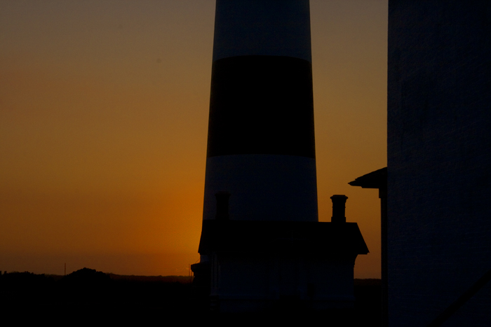 Bodie Lighthouse at Sunrise
