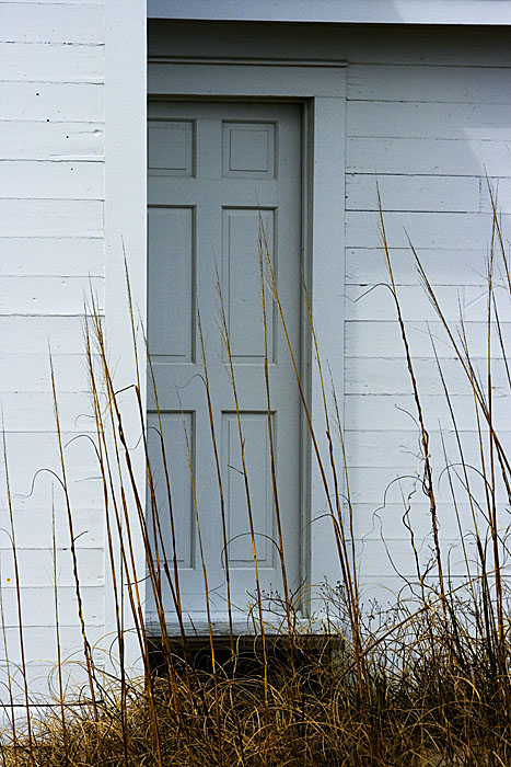 Cape Lookout Lighthouse Keeper\'s Door