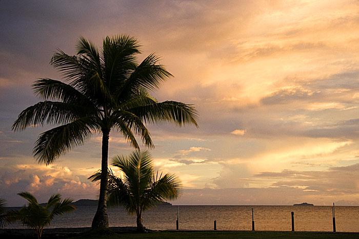 Blue Lagoon Sunset, Chuuk, Micronesia