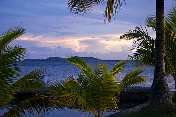 Blue Lagoon Sunset, Chuuk, Micronesia