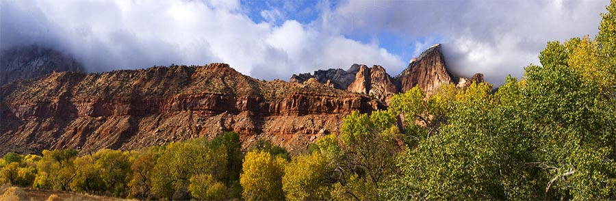 Zion Valley Pano