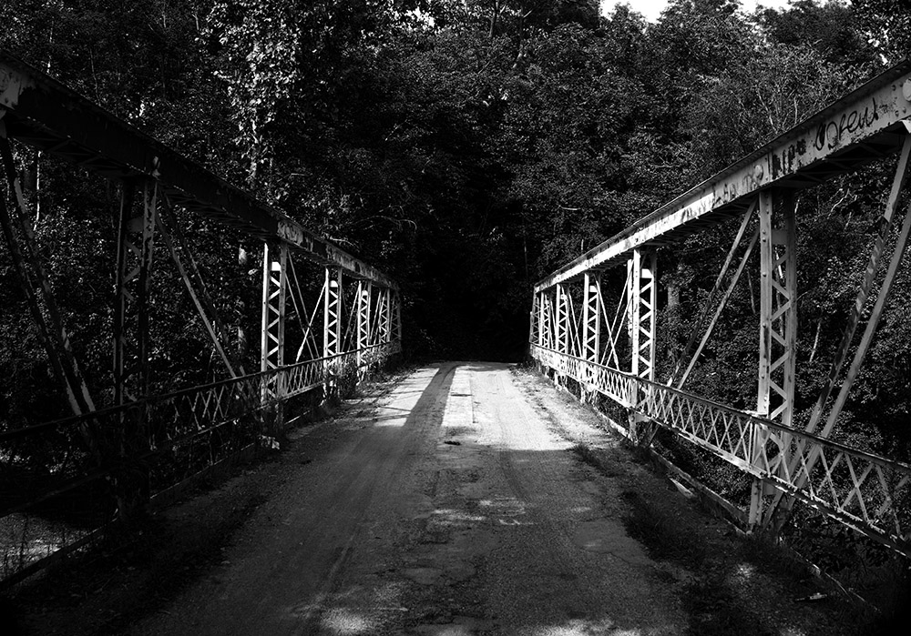 Fudge Road -APreble County  Iron Bridge
