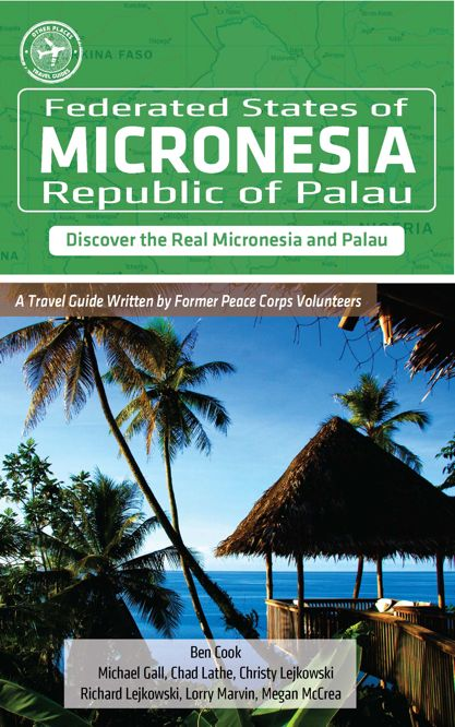 Other Places Publishing Micronesia Travel Guide with my Cover Image.