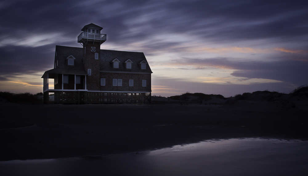 Old Oregon Inlet Coast Guard Station