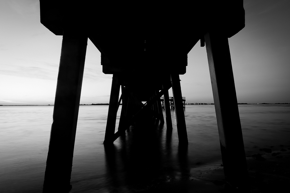Southport Pier on the Cape Fear River - III