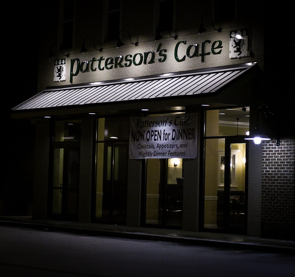 Pattersons\'s Cafe