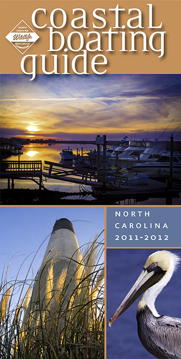North Carolina Wildlife Resource Commission\'s 2011-12 Coastal Boating Guide