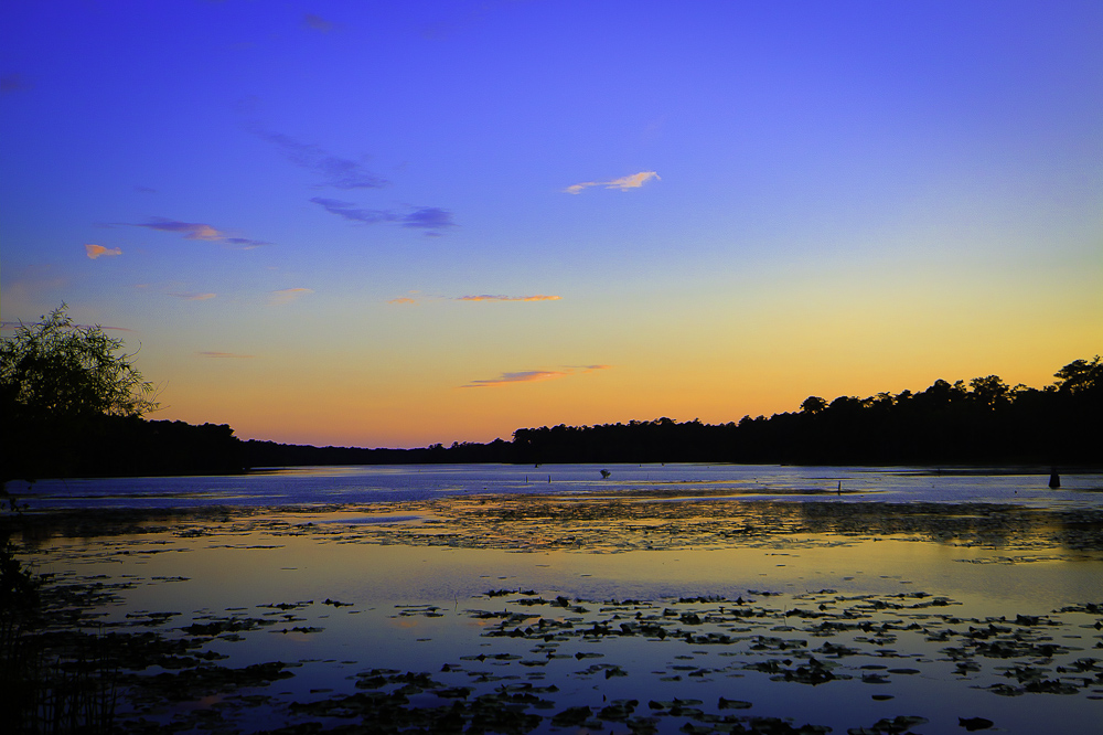 Orton Pond Sunset