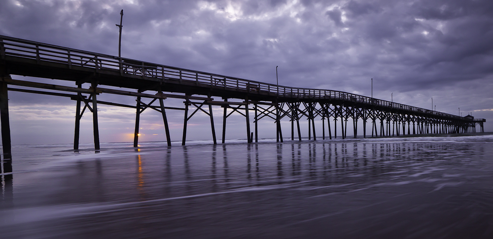 Ocean Crest Pier at Sunrise