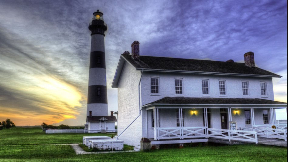 Bodie Island Lighthouse on the NC Outer Banks