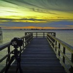 Shooing at Kingsley Park, Southport, NC