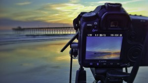 Shooting Sunset at Oceancrest Pier