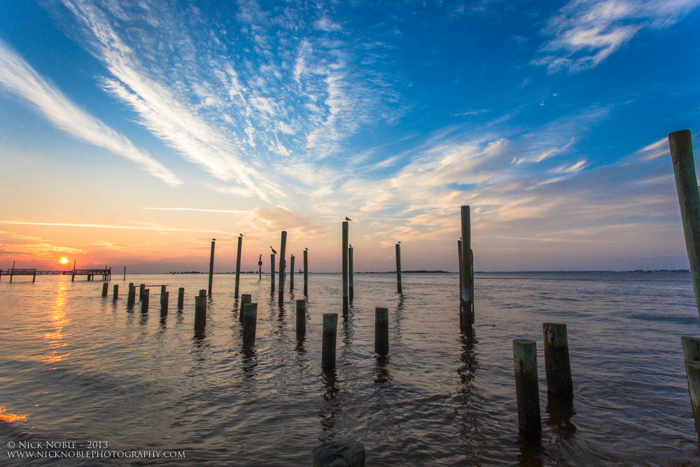 Southport Sunrise on the Cape Fear River