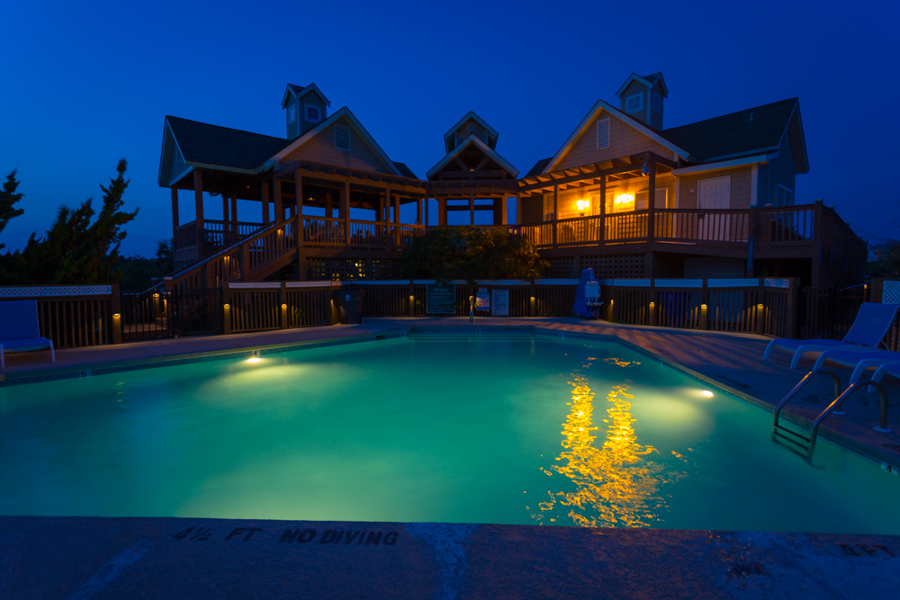 St James Beach Club Twilight