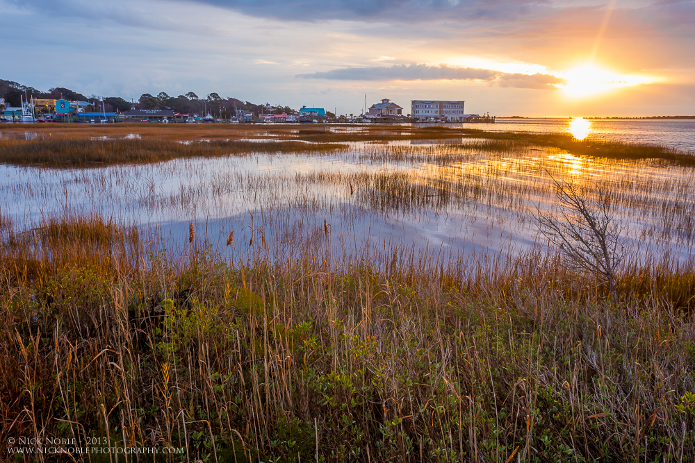Southport Marsh Sunrise 2