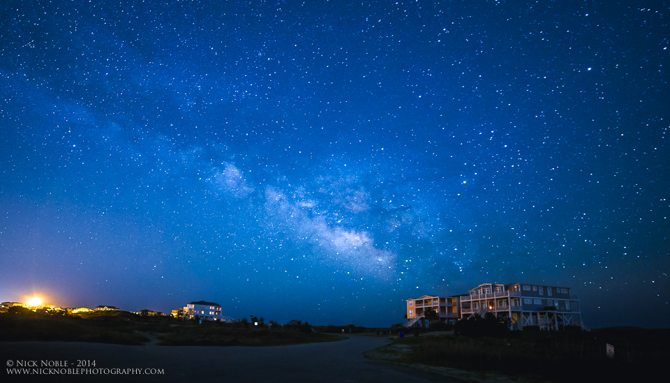 Oak Island Milky Way